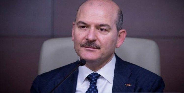 Bakan Soylu, şehit polis için taziye mesaj yayınladı