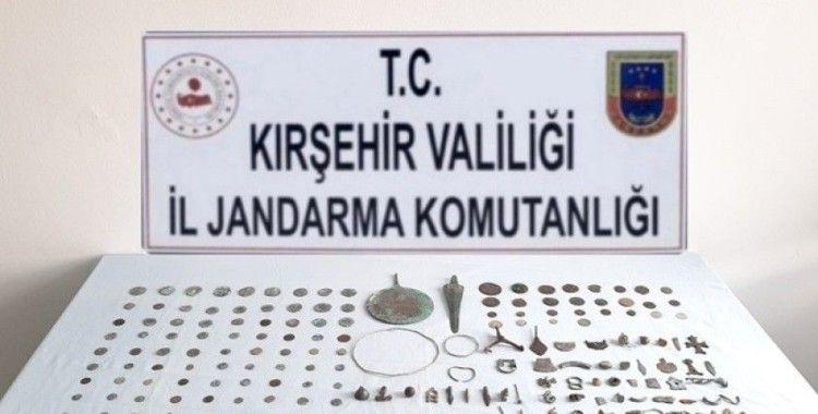 Kırşehir'de jandarmadan Roma ve Bizans dönemi eserleri operasyonu
