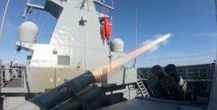 Cumhurbaşkanı Erdoğan: Atmaca Gemisavar füzemiz son test atışında ilk kez bir gemi hedefini tam isabetle vurmayı başardı