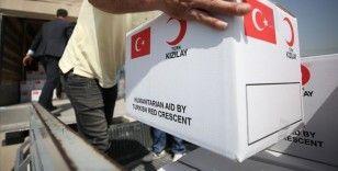 Kızılay, Türkiye'ye sığınan geçici koruma altındakilere desteğini sürdürüyor