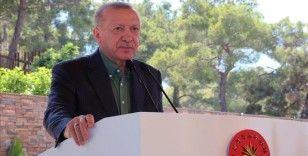 Cumhurbaşkanı Erdoğan: Ülkemiz yavaş yavaş seyahat kısıtlamaları ile ilgili listelerden çıkmaya başladı