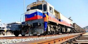 Demir yoluyla taşınan 29,9 milyon ton yükle geçen yıl tüm zamanların rekoru kırıldı