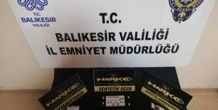 Balıkesir'de polisten 27 şahsa gözaltı