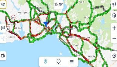 Kısıtlama sona erdi, trafik çilesi başladı