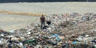 Çöp tesisindeki tonlarca çöpün içinde bebek cesedi aradılar