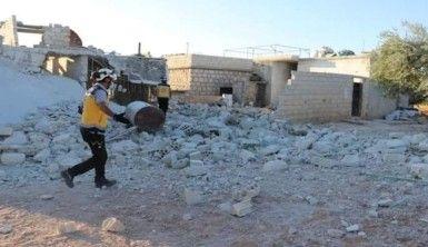 Esad rejiminden İdlib kırsalına topçu saldırısı