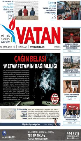GüzelVatan E-Gazete - Temmuz 2021