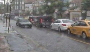 İstanbul'da yağmur etkili olmaya başladı