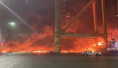 Dubai'de büyük patlama