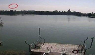 Polonya'da helikopterin göle düşme anına ait görüntüler ortaya çıktı