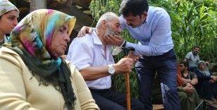 Selde kaybolan Batuhan Delihasan'ın ailesini Bakan Murat Kurum teselli etti