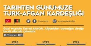 MSB'den 'Tarihten Günümüze Türk-Afgan Kardeşliği' paylaşımı