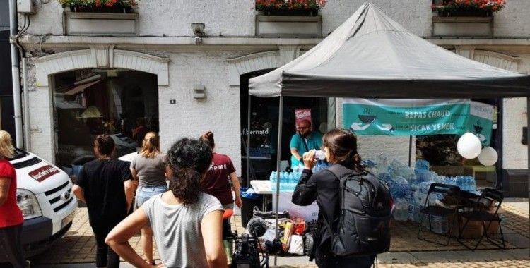 Sel felaketini yaşayan Almanya'ya Türk yardım kuruluşundan destek