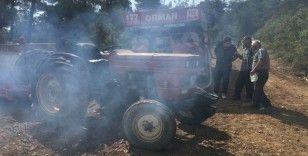 Osmaneli'de 10 hektar ormanlık alan yandı