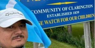 Kanada'da yaşayan Uygur Türkü Bilal Malik, milletinin özgürlüğü için 380 kilometre yürüdü
