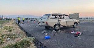 Otomobil şarampole devrildi: 1 ölü, 3 yaralı