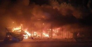 Irak'ta İmam Ali Askeri Hava Üssü'nde yangın
