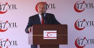 KKTC Cumhurbaşkanı Tatar: Kıta sahanlığımızdaki doğal kaynaklara Türkiye ile sahip çıkma kararlığı içerisindeyiz