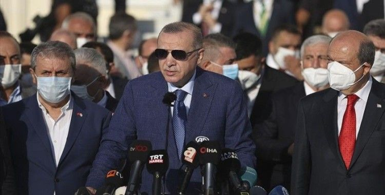 Cumhurbaşkanı Erdoğan: Afganistan'daki süreci Taliban'la da görüşeceğiz
