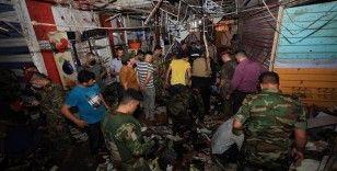 Irak'ın başkenti Bağdat'taki halk pazarında patlama: 30 ölü