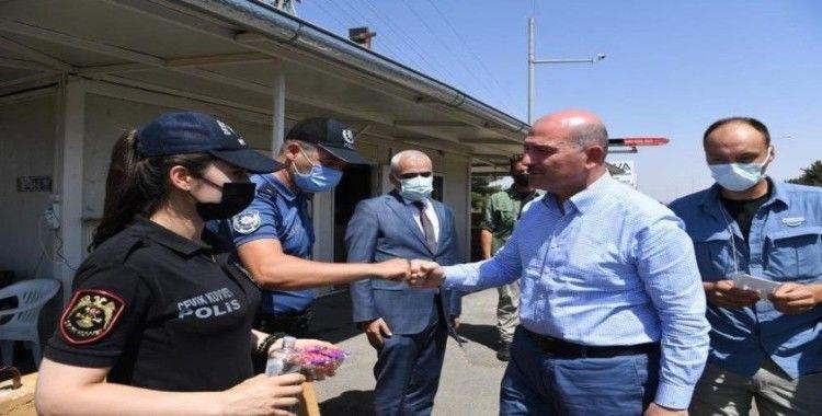İçişleri Bakanı Soylu Kilis'te