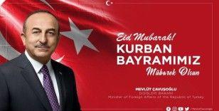 Bakan Çavuşoğlu'ndan bayram mesajı