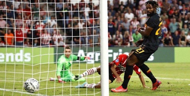 UEFA Şampiyonlar Ligi: PSV: 2 - Galatasaray: 1 (İlk yarı)