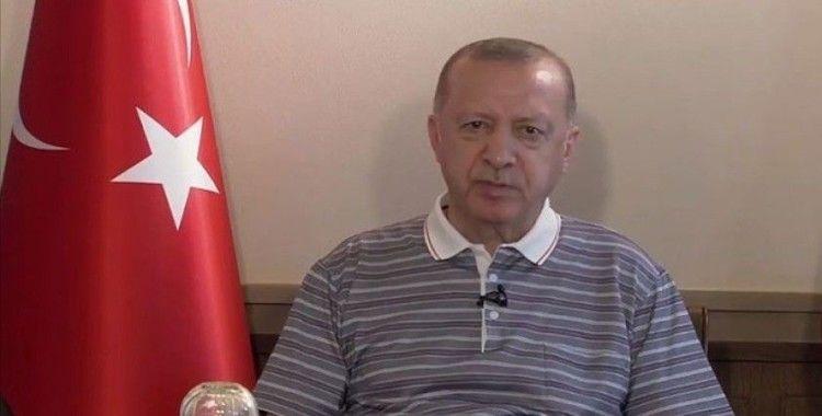 Cumhurbaşkanı Erdoğan: Kıbrıs Türklerinin masadaki tek talebi egemen devlet statülerinin tanınması