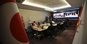 Siyasi partiler video konferans aracılığıyla bayramlaştı