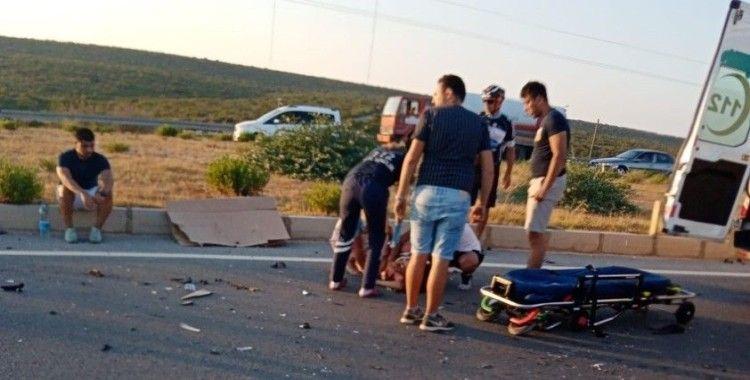 Didim'de trafik kazası: 1 ölü, 5 yaralı
