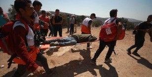 İsrail askerleri Batı Şeria'daki gösterilerde 64 Filistinliyi yaraladı