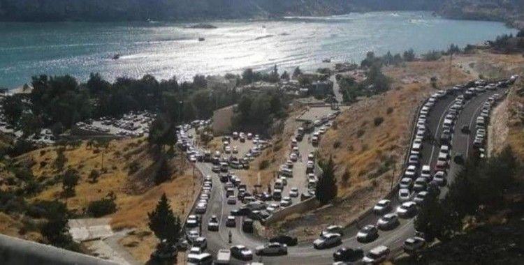 Halfeti'de Kurban Bayramı'nda ziyaretçi rekoru kırıldı