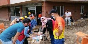 Sel felaketinden etkilenen vatandaşlar için, 5 milyon TL kaynak aktarımı
