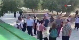134 fanatik Yahudi Mescid-i Aksa'ya baskın düzenledi