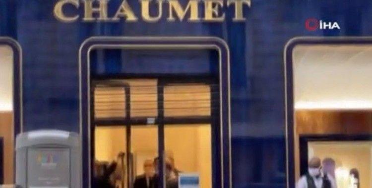Paris'teki ünlü kuyumcuya soygun şoku: 2 milyon euro'luk mücevher çalındı