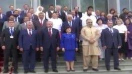 Mustafa Şentop, Üçlü Parlamento Başkanları Birinci Toplantısı'na katıldı