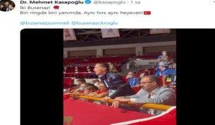 Buse Naz Çakıroğlu'ndan, Busenaz Sürmeneli'ye tam destek