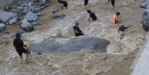 Polis Arama Kurtarma (PAK) ekiplerinin ilk görev yeri Artvin'de sel bölgesi oldu