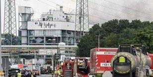 Almanya'daki kimya tesisisin katı atık yakma alanında patlama meydana geldi