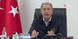 """Milli Savunma Bakanı Akar'dan Yunanistan'a """"Silahlanma yarışı"""" tepkisi"""