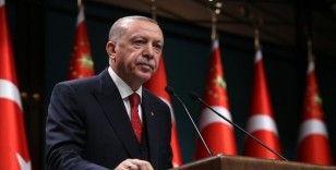 Erdoğan: Karadeniz gazının devreye girmesiyle, kaynaktaki dışa bağımlılığımızı önemli oranda azaltacağız