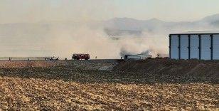 Kahramanmaraş'ta depo yangını