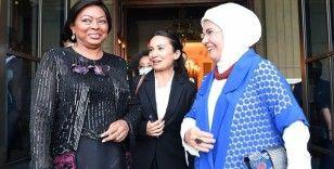 Emine Erdoğan, Angola Cumhurbaşkanının eşini misafir etti