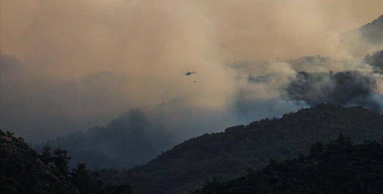 Marmaris'teki orman yangınında motosikletiyle alevlerin arasında kalan genç, hayatını kaybetti
