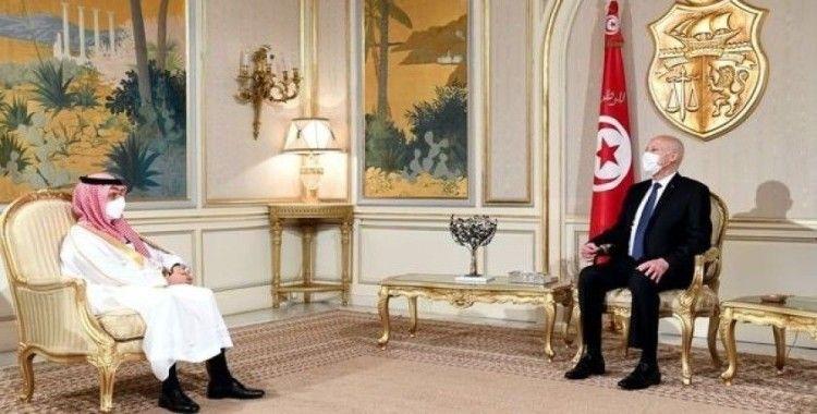 Suudi Arabistan, Tunus'ta güvenlik ve istikrarın sağlanmasına yönelik desteğini teyit etti