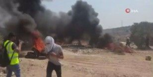 İsrail güçlerinden Nablus'ta Filistinlilere gerçek ve plastik mermili müdahale: 178 yaralı