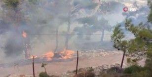 Köyceğiz'de yangın devam ediyor