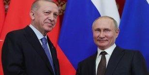 Erdoğan ile Putin telefonda orman yangınlarını görüştü