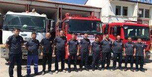 Elazığ Belediyesi İtfaiyesi'nden Manavgat'a destek
