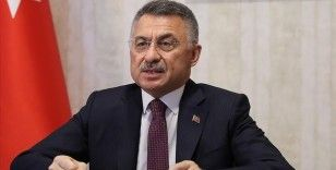 Cumhurbaşkanı Yardımcısı Oktay'dan Van'daki selden zarar görenler için geçmiş olsun mesajı